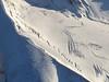 Crevasses in Lewis Glacier, South Sister.