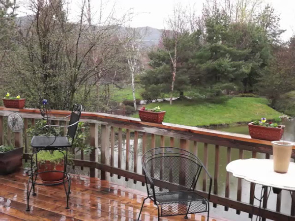 805 Creek Stone Way - View from the deck over park