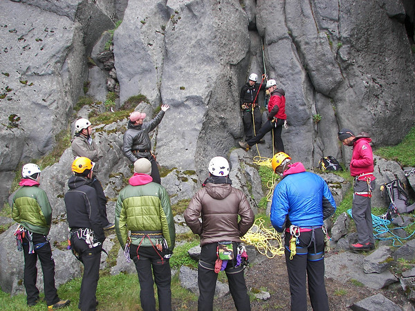 Mountain skills course