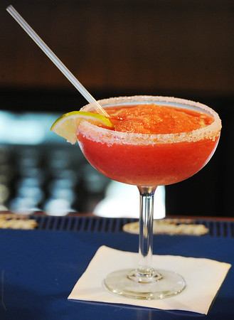 JMag/T. Rob Brown A strawberry margarita recently in the cantina at Casa Montez restaurant in Joplin.