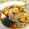 Globe/T. Rob Brown<br /> cajun rice and shrimp dish