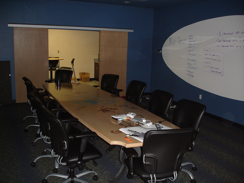 The conference room (before PAX 2009)