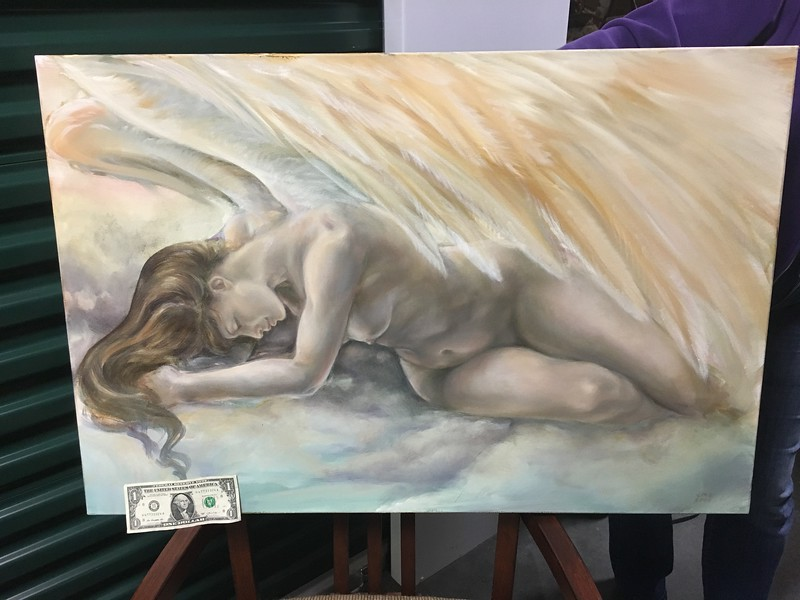 oil painting by Lindsay Archer