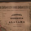 Georgia and Alabama map detail