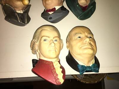Bosson chalkwork: Mozart and Churchill.