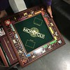 Franklin Mint MONOPOLY board. All pieces, cards, money are intact.