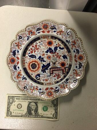 Decorative dish #2. Dollar bill for scale.
