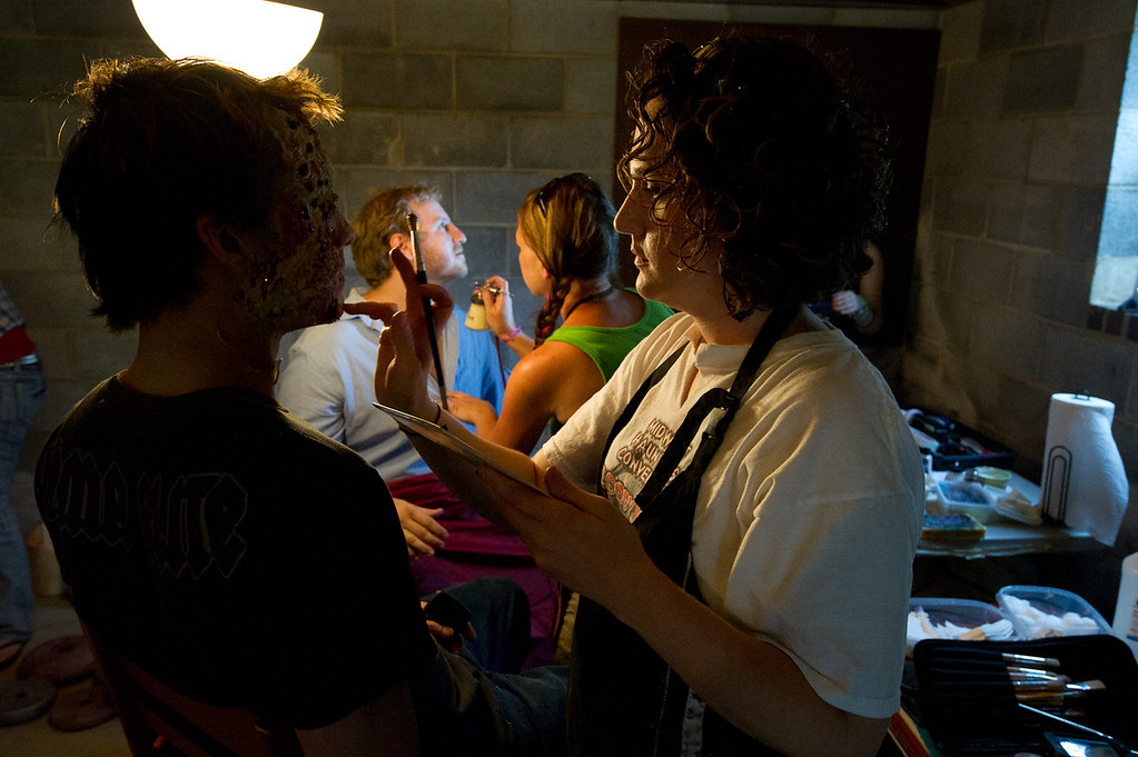 Fear the Flesh, production still