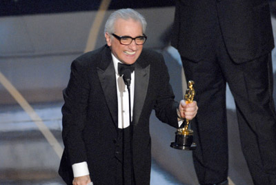 "Martin Scorsese accepts Best Director award for ""The Departed""<br /> The 79th Annual Academy Awards - Show<br /> Kodak Theatre <br /> Los Angeles , California United States<br /> February 25, 2007<br /> Photo by Michael Caulfield/WireImage.com<br /> <br /> To license this image (12910146), contact WireImage:<br /> U.S. +1-212-686-8900 / U.K. +44-207-868-8940 / Australia +61-2-8262-9222 / Germany +49-40-320-05521 / Japan: +81-3-5464-7020<br /> +1 212-686-8901 (fax)<br /> info@wireimage.com (e-mail)<br />  <a href=""http://www.wireimage.com"">http://www.wireimage.com</a> (web site)"