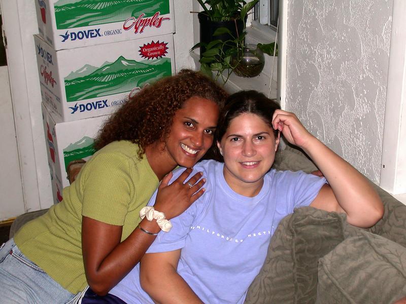 Michelle and Cristina... roommates no more.