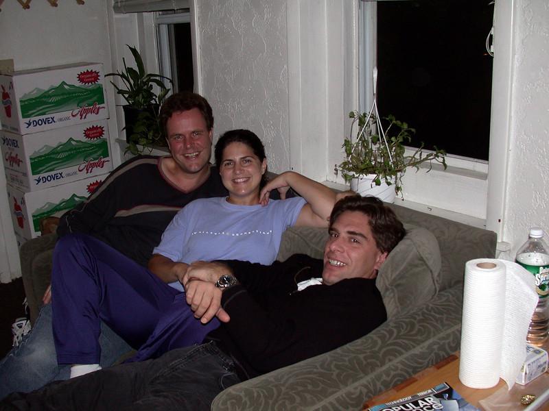 Me, Anton, Cristina and Steve.