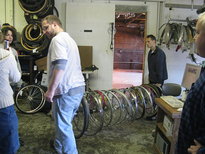 Moving lots of wheels