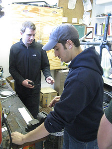 Making wheel-hooks