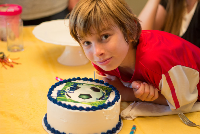 Soccer Cake - 11th B-day