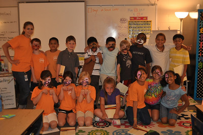 Mrs. Luna's 2nd grade class