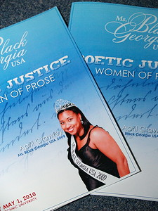 Ms. Black Georgia USA 2010 Program