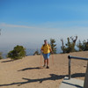 Beezer hits the summit.