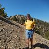 Beezer on the Ridge to the summit.