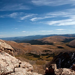 "Mt. Bierstadt : It's been a long time goal to ""bag"" a fourteener. I lived in Colorado for 15 years and for various reasons missed my opportunity. This past vacation, I decided was the perfect time to do it. I've hiked the Grand Canyon rim to rim, run 1/2 marathons, and am pretty active but this hike was the absolute hardest thing I have ever done. I know what it means to give 1000% physically & mentally. After reaching the top totally spent with nothing left, I quickly realized I still had to walk back down to my car!!  It was a long walk back especially not feeling so well. Walking back I swore I'd never do this again. The next morning I felt better and listed all the things I had done wrong and would change for the next climb. And that's how it all gets started...."