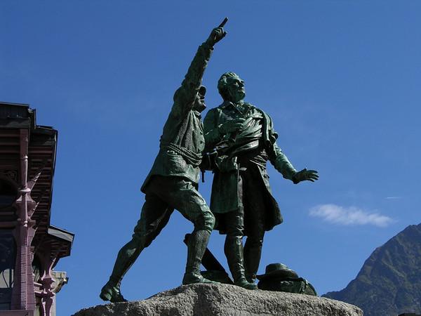 Mt. Blanc & Chamonix, September 2005