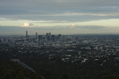 Mt Cootha lookout