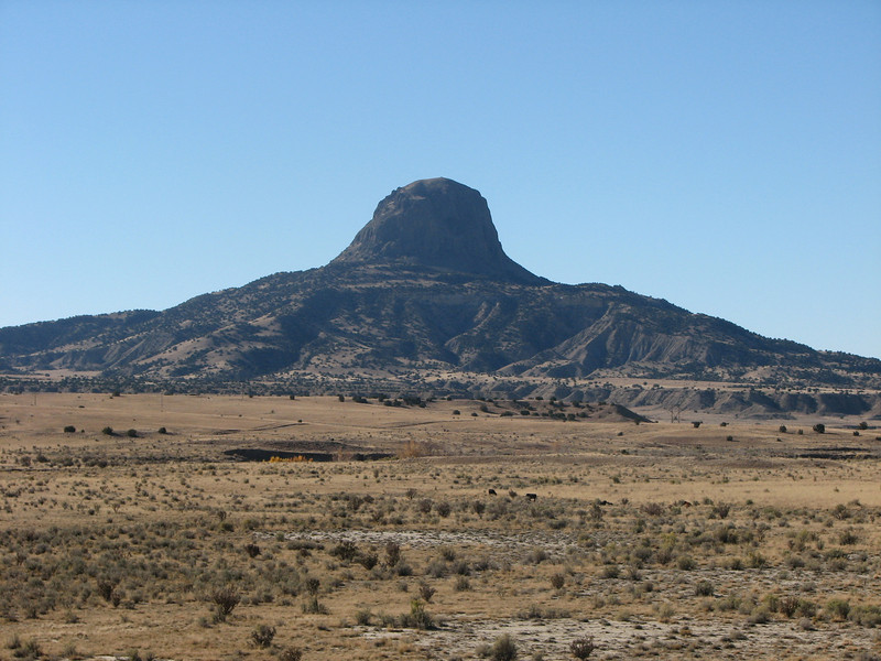 Photo taken from the north side of Cabezon.