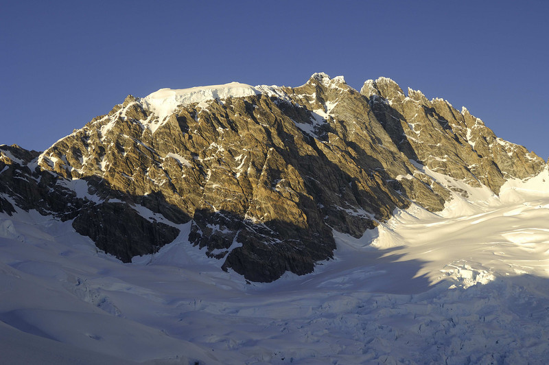 Mt. Waddington from Dias Glacier