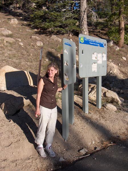 Nancy at Trailhead