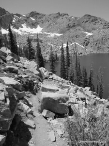 Lake Gilpin Trail, Mt. Zirkel Wilderness