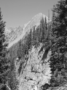 Mt. Zirkel from Lake Gilpin Trail