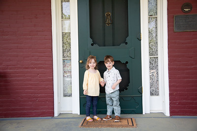 twins at the door! (1 of 10)