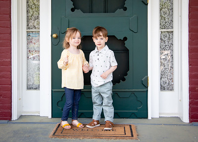 twins at the door! (4 of 5)