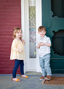 twins at the door! (4 of 6)