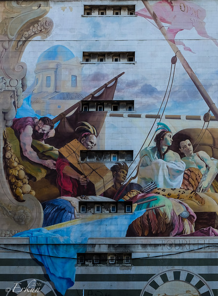 Mural in Marseille
