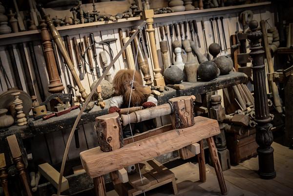 Le Tourneur - Musée du bois Labaroche
