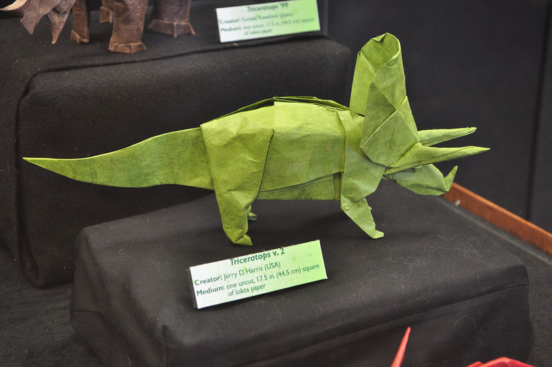 7a2 - Origami Triceratops