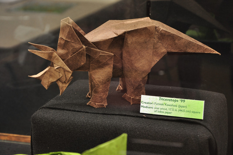 7a3 - Origami Triceratops