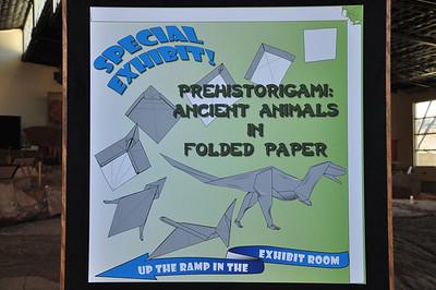 1 - Prehistorigami Entry Sign