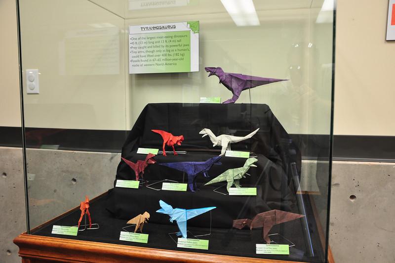 5b - Origami Tyrannosaurs