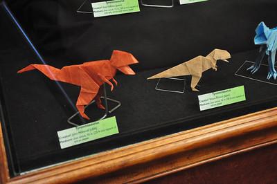 5b - Origami Tyrannosaurs Close-up 2