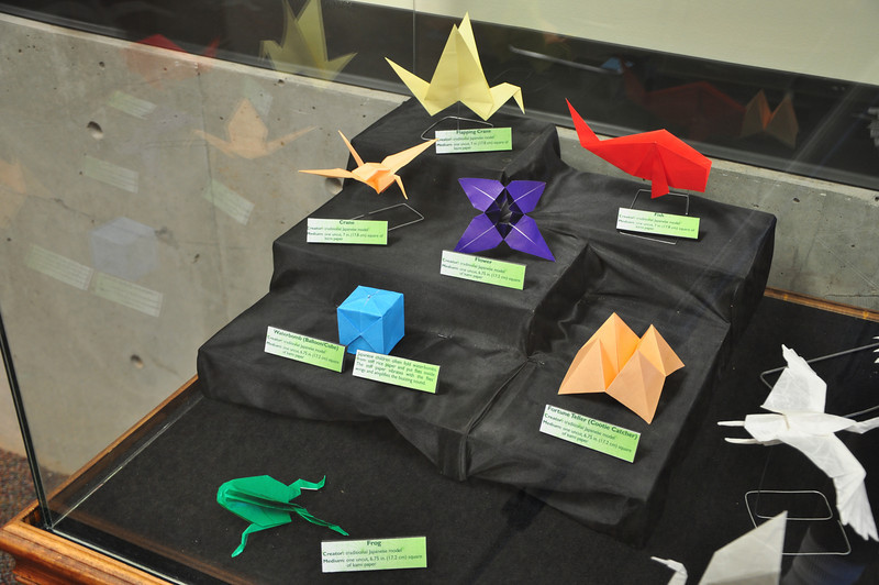 3a - Early Origami Display