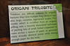 14b - Origami Trilobite Sign
