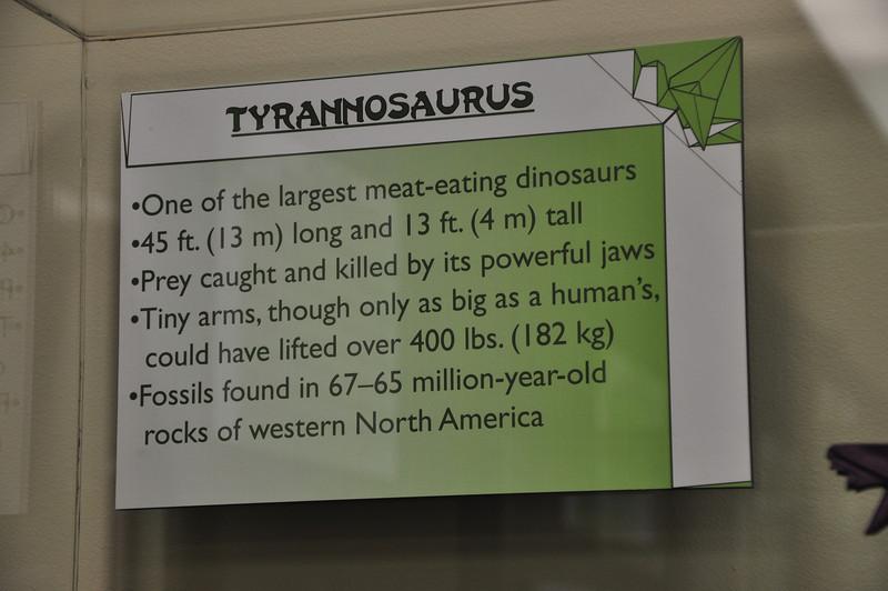 5c - Tyrannosaurus Sign