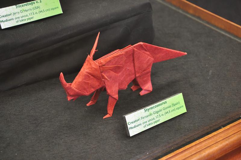 7a1 - Origami Styracosaurus