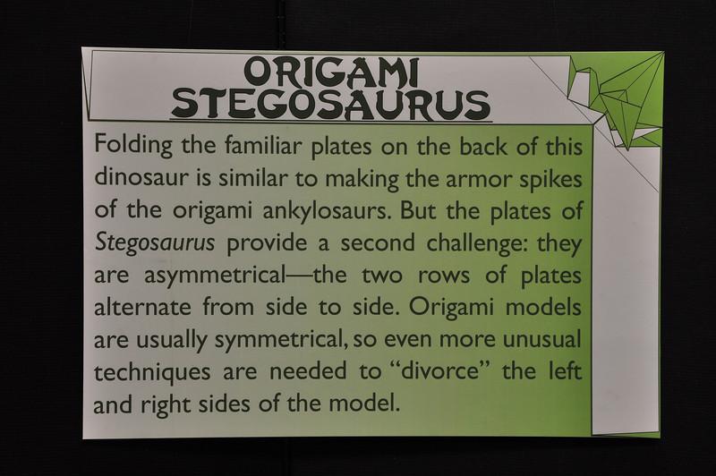 8c - Origami Stegosaurus Sign