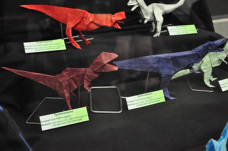 5b - Origami Tyrannosaurs Close-up 3