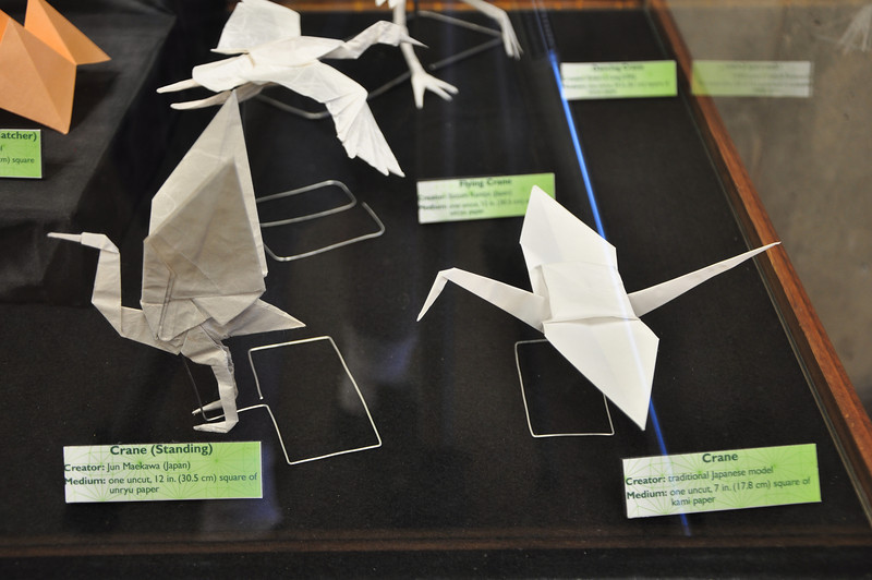 3b - Modern Origami Display Close-up 1