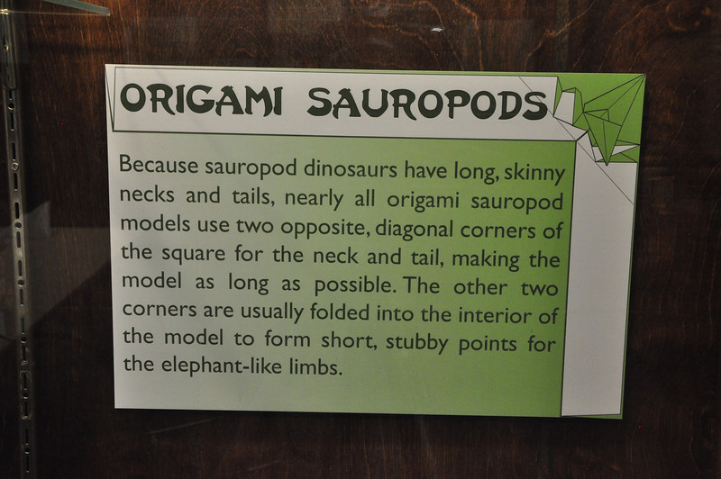 12b - Origami Sauropods Sign