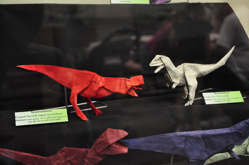 5b - Origami Tyrannosaurs Close-up 5