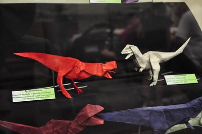 5b - Origami Tyrannosaurs Close-up 5